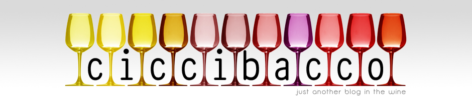 Ciccibacco - just another blog in the wine